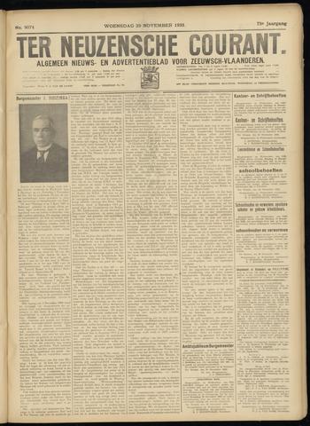 Ter Neuzensche Courant. Algemeen Nieuws- en Advertentieblad voor Zeeuwsch-Vlaanderen / Neuzensche Courant ... (idem) / (Algemeen) nieuws en advertentieblad voor Zeeuwsch-Vlaanderen 1933-11-29