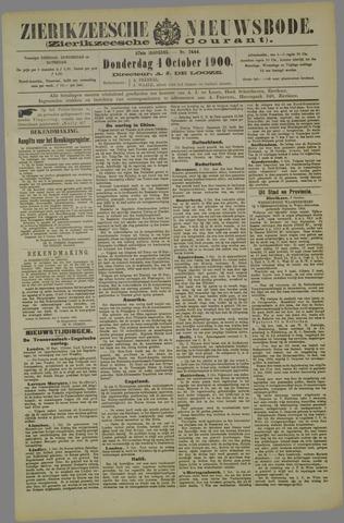 Zierikzeesche Nieuwsbode 1900-10-04