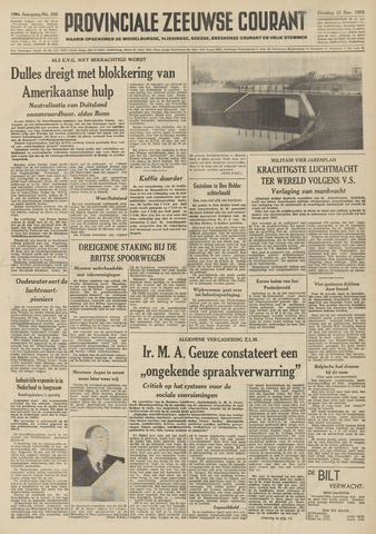 Provinciale Zeeuwse Courant 1953-12-15