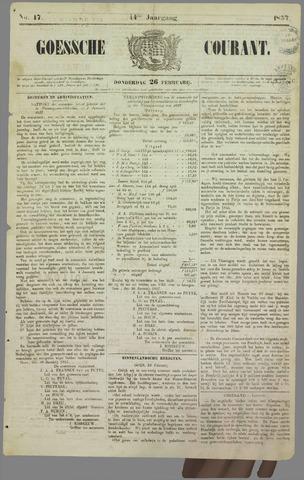 Goessche Courant 1857-02-26