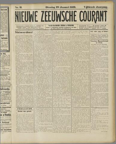 Nieuwe Zeeuwsche Courant 1919-01-28