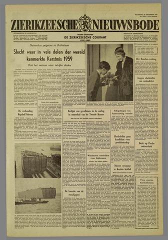 Zierikzeesche Nieuwsbode 1959-12-28