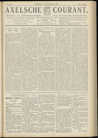 Axelsche Courant 1939-08-04