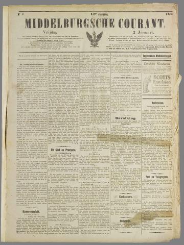 Middelburgsche Courant 1914