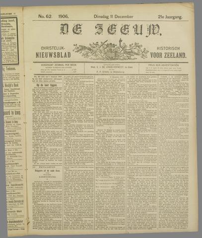 De Zeeuw. Christelijk-historisch nieuwsblad voor Zeeland 1906-12-11
