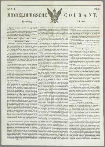 Middelburgsche Courant 1865-07-15