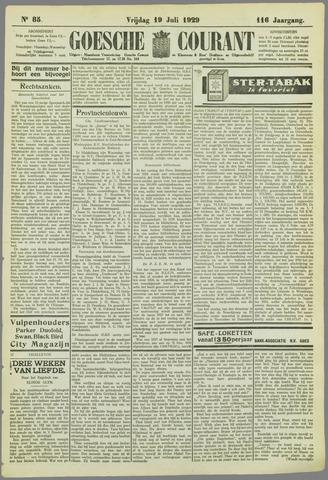 Goessche Courant 1929-07-19