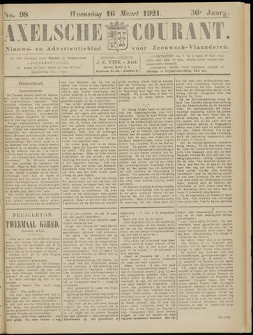 Axelsche Courant 1921-03-16