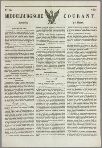 Middelburgsche Courant 1871-03-25