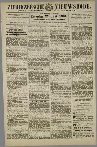 Zierikzeesche Nieuwsbode 1901-06-22