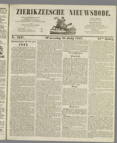 Zierikzeesche Nieuwsbode 1865-07-26