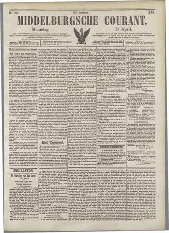 Middelburgsche Courant 1899-04-17