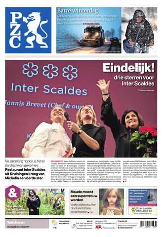 Provinciale Zeeuwse Courant 2017-12-12