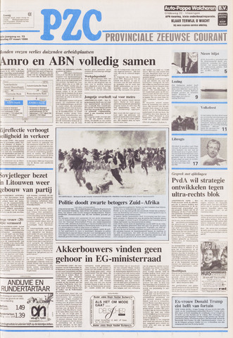 Provinciale Zeeuwse Courant 1990-03-27