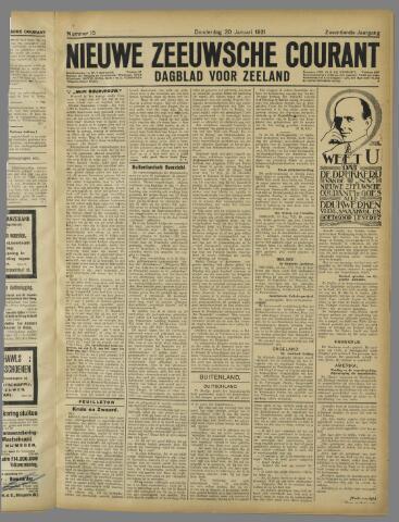 Nieuwe Zeeuwsche Courant 1921-01-20