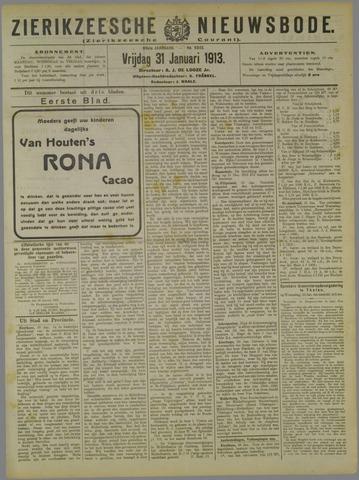 Zierikzeesche Nieuwsbode 1913-01-31