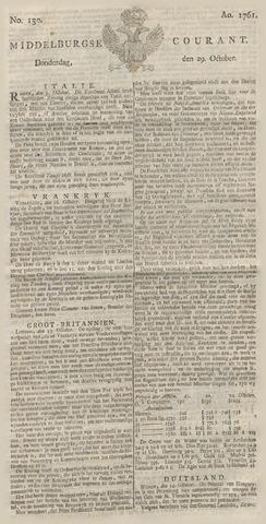 Middelburgsche Courant 1761-10-29