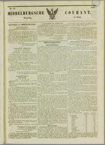 Middelburgsche Courant 1847-06-15