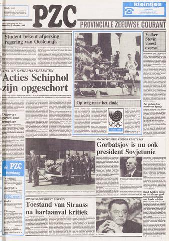 Provinciale Zeeuwse Courant 1988-10-03