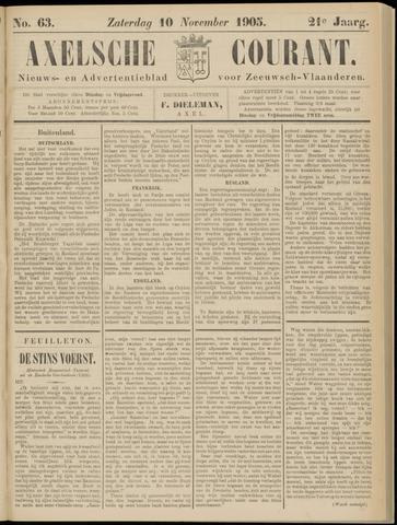Axelsche Courant 1905-11-11