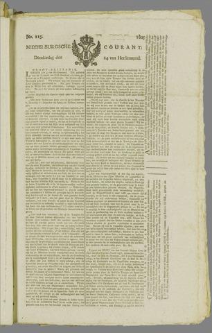 Middelburgsche Courant 1809-09-14