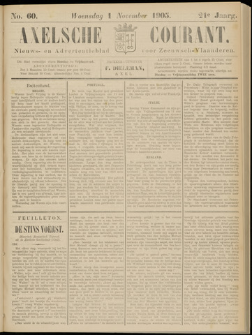 Axelsche Courant 1905-11-01