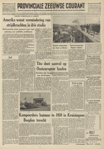 Provinciale Zeeuwse Courant 1957-06-26