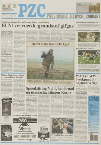 Provinciale Zeeuwse Courant 1998-10-01