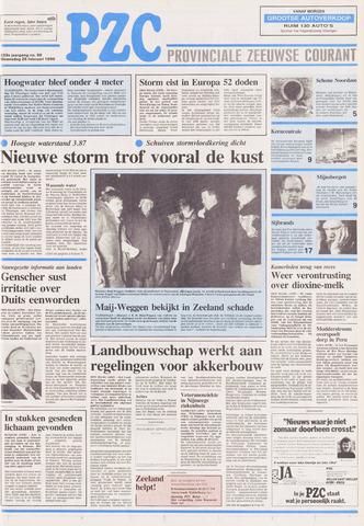 Provinciale Zeeuwse Courant 1990-02-28