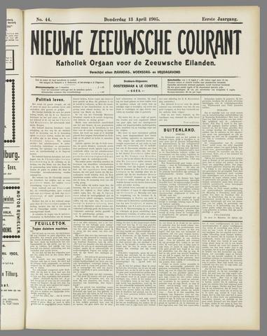Nieuwe Zeeuwsche Courant 1905-04-13