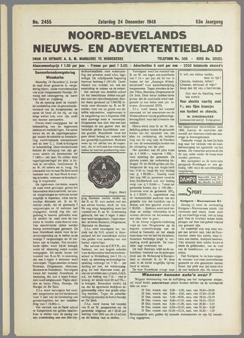 Noord-Bevelands Nieuws- en advertentieblad 1949-12-24