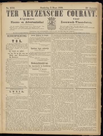 Ter Neuzensche Courant. Algemeen Nieuws- en Advertentieblad voor Zeeuwsch-Vlaanderen / Neuzensche Courant ... (idem) / (Algemeen) nieuws en advertentieblad voor Zeeuwsch-Vlaanderen 1899-03-02