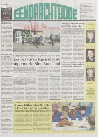 Eendrachtbode (1945-heden)/Mededeelingenblad voor het eiland Tholen (1944/45) 2012-11-01