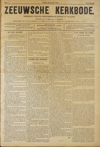 Zeeuwsche kerkbode, weekblad gewijd aan de belangen der gereformeerde kerken/ Zeeuwsch kerkblad 1941