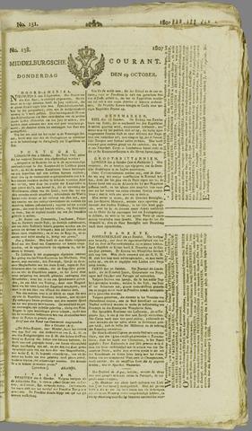 Middelburgsche Courant 1807-10-29