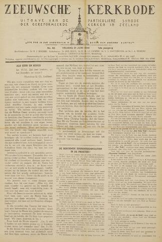 Zeeuwsche kerkbode, weekblad gewijd aan de belangen der gereformeerde kerken/ Zeeuwsch kerkblad 1946-06-21