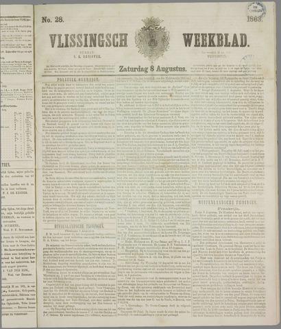 Vlissings Weekblad 1863-08-08