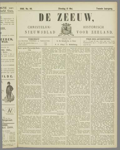 De Zeeuw. Christelijk-historisch nieuwsblad voor Zeeland 1888-05-15