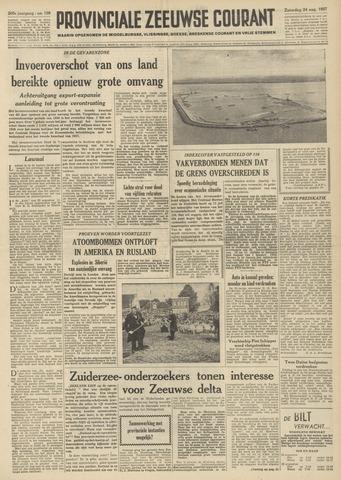 Provinciale Zeeuwse Courant 1957-08-24