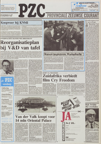 Provinciale Zeeuwse Courant 1988-07-30