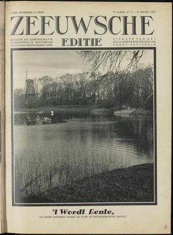 Ons Zeeland / Zeeuwsche editie 1931-03-27