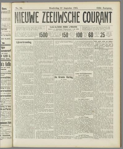 Nieuwe Zeeuwsche Courant 1915-08-12