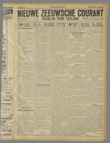Nieuwe Zeeuwsche Courant 1921-07-29