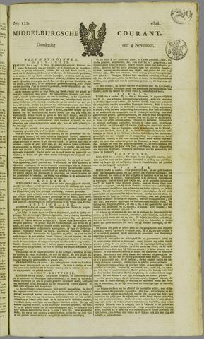 Middelburgsche Courant 1824-11-04