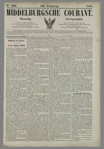 Middelburgsche Courant 1888-09-24