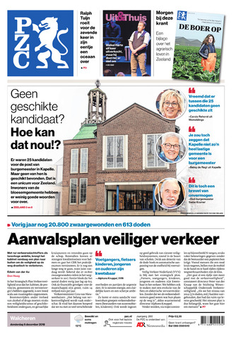 Provinciale Zeeuwse Courant 2018-12-06