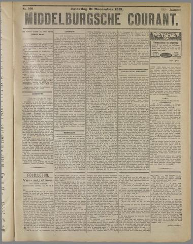 Middelburgsche Courant 1921-12-31
