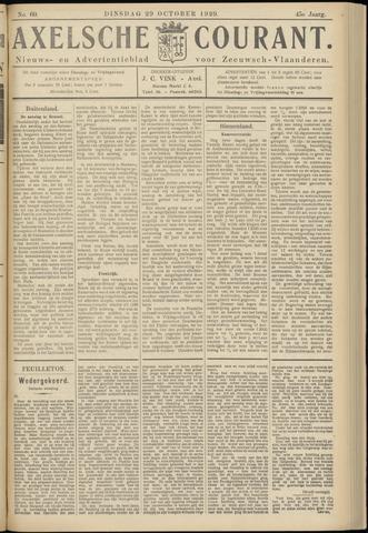 Axelsche Courant 1929-10-29