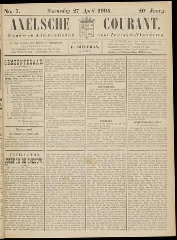 Axelsche Courant 1904-04-27