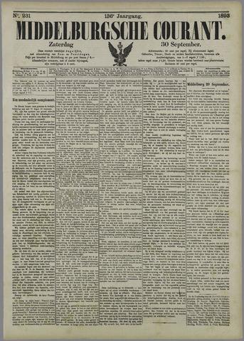 Middelburgsche Courant 1893-09-30